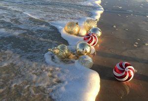 Christmas Decorations on the BEach